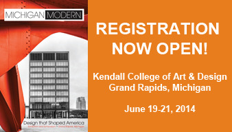 2014 Michigan Modern Symposium Open Registration Banner