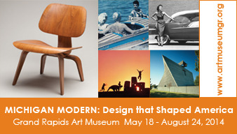 Michigan Modern Design that Shaped America Exhibition at the Grand Rapids Art Museum