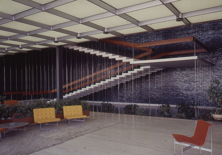 Michigan modern for General motors service center
