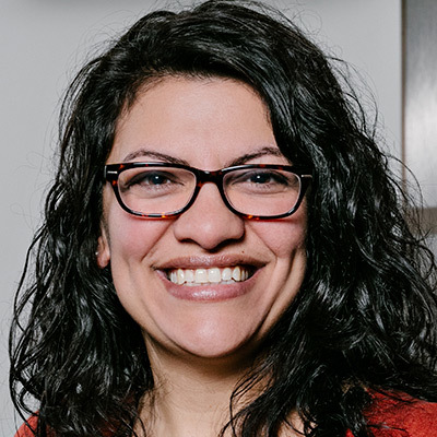 Photo of Rashida Tlaib