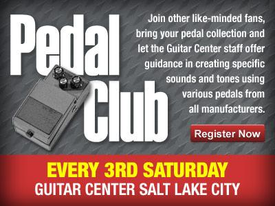 Guitar Center Salt Lake City Pedal Club