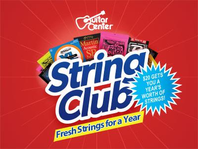 Guitar Center String Club