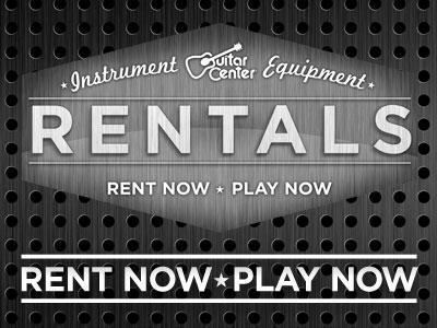 WE RENT GEAR!