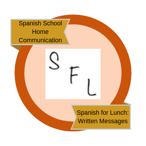 Spanish for Lunch: Written Messages