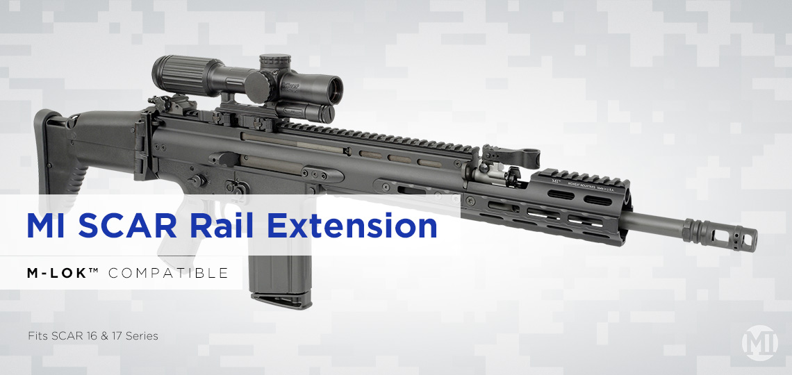 MI SCAR Rail Extension