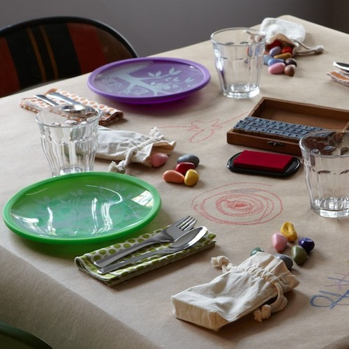 Rethinking the kids' table