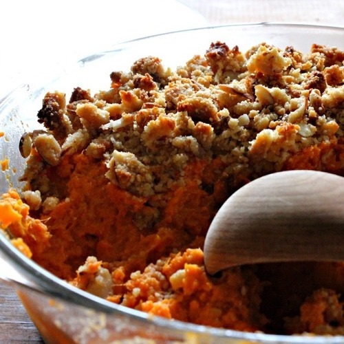 Tastiest sweet potato casserole and win the cookbook
