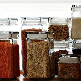 Pantry Organization: What you see is what you eat