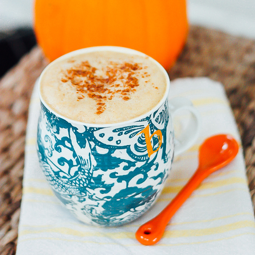 Homemade Pumpkin Spiced Latte