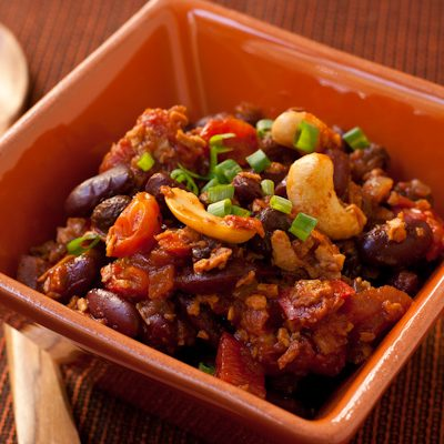 Firehouse chili recipe {vegan}