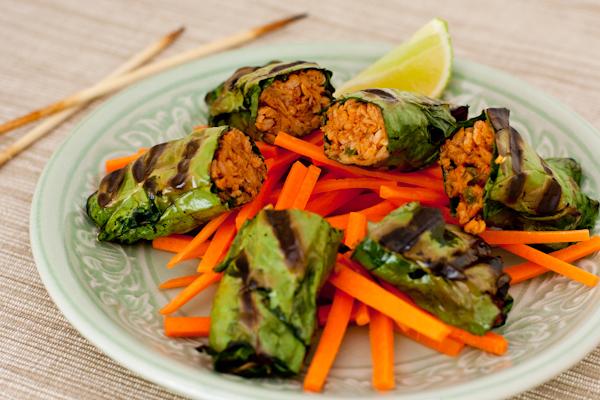 Vegan Bo La Lot appetizer