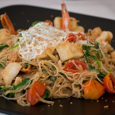 Bice Ristorante | Angel-hair pasta with seafood
