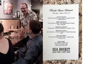 Sea Rocket Bistro author Hank Shaw