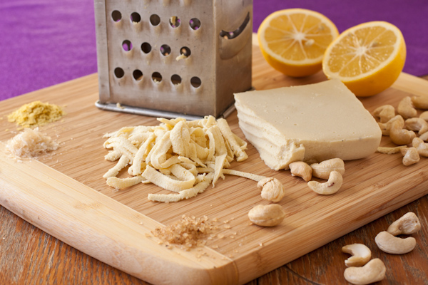 How to make shredded vegan cheese