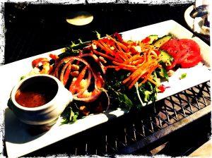 Salad at Maura's Catering