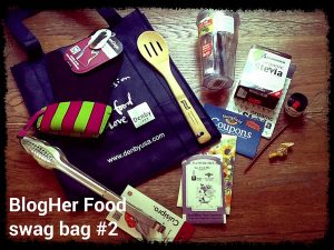 BlogHer Food Swag Bag from Recipe Renovator