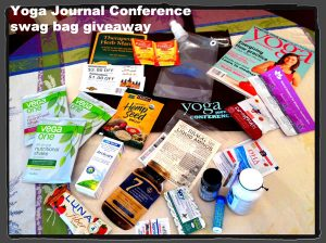 Yoga_Journal_Conference_Swag_giveaway