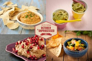 October Unprocessed Snacks Week