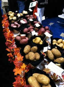 Seed Potatoes display at Fresh Summit 2012