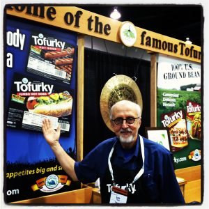 Tofurky founder Seth Tibbott at Fresh Summit 2012