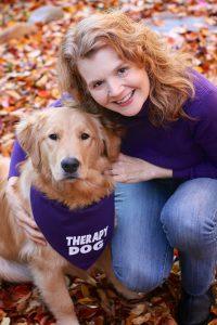 Author Stephanie Weaver with Daisy | Recipe Renovator