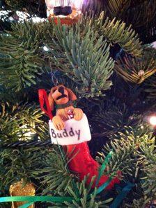 Custom Buddy ornament from Sue Crafts