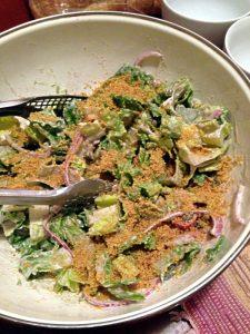 Karma Chow Vegan Caesar Salad
