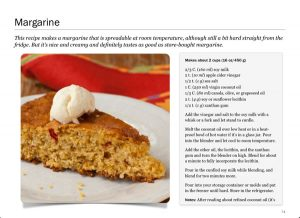 Screenshot of Margarine from Twelve Terrific Dairy Substitutes by Recipe Renovator