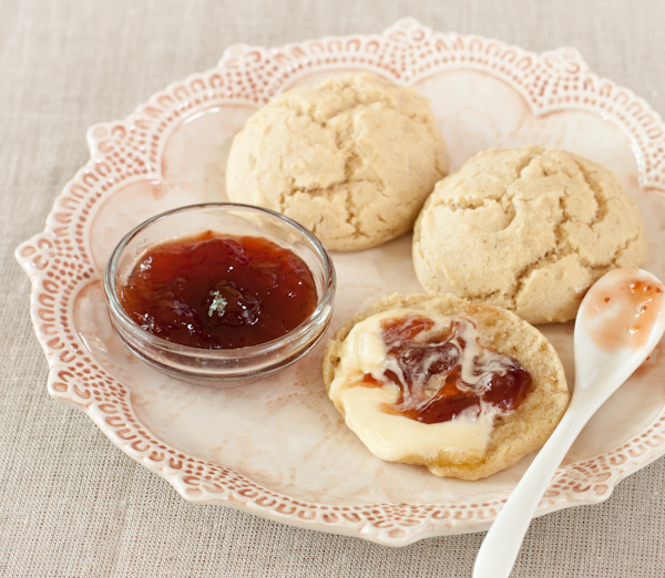 Biscuits with spoon | Gluten-free | Vegan | Recipe Renovator
