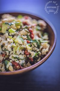 Picnic Rice Salad by Confessions of a Foodie