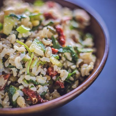 Picnic rice salad: a Dog Days of Summer post from @afotogirl