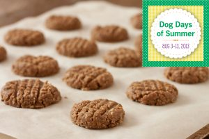 Dog Days of Summer Dog Biscuits by Recipe Renovator