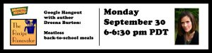 Meatless Monday Live Hangout with Dreena Burton 9/30 6-6:30 pm PT