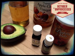 October Unprocessed | Natural Hair Care | Recipe Renovator