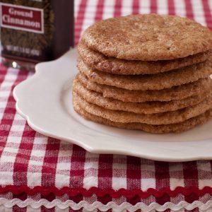 Gluten-free Snickerdoodles from Recipe Renovator (vegan too!)