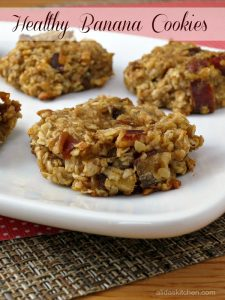 Healthy Banana Cookies from Alida's Kitchen | Recipe Renovator cookie feature