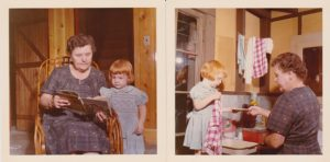 Steph Grandma Cabin Photo Shoot | Recipe Renovator