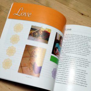 Golden Angels book inside pages