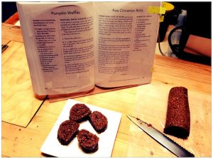 Raw cinnamon rolls from Gluten-Free Vegan Comfort Food review   Recipe Renovator