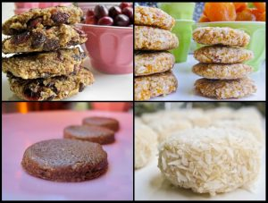 Featured Cookies from The Blender Girl | Month O' Cookies on Recipe Renovator