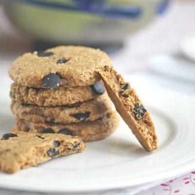 Butterscotch oatmeal chocolate chip cookies from @RickiHeller