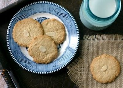 Almond cookies from @EverydayMaven