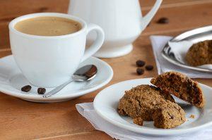 Caramel Macchiato Cookies from An Edible Mosaic | Month O' Cookies on Recipe Renovator