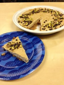 Cannoli Pie from Easy As Vegan Pie   Review by Recipe Renovator