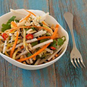 Green Papaya Salad from Twelve Terrific Thai Recipes e-book   Recipe Renovator