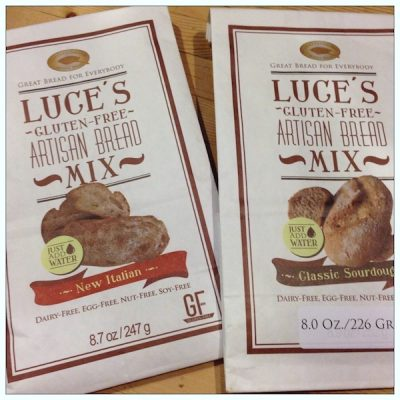 Product review: Luce's Gluten-Free Bread Mixes