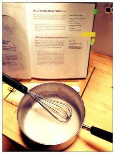 """Egg foam"" from Plum cookbook review on Recipe Renovator"