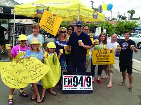 Miller Tribe hosting Alex's Lemonade Stand