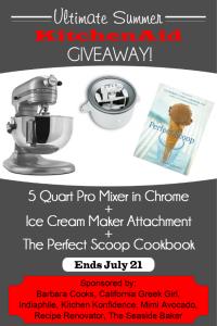 Kitchenaid Giveaway | Ends 7/21/14 at 11:59 PM PDT