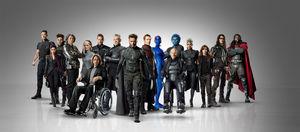 X men days of future past full cast promo photo